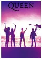 Queen - Band stage logo - canvas print - self adhesive poster - photo print